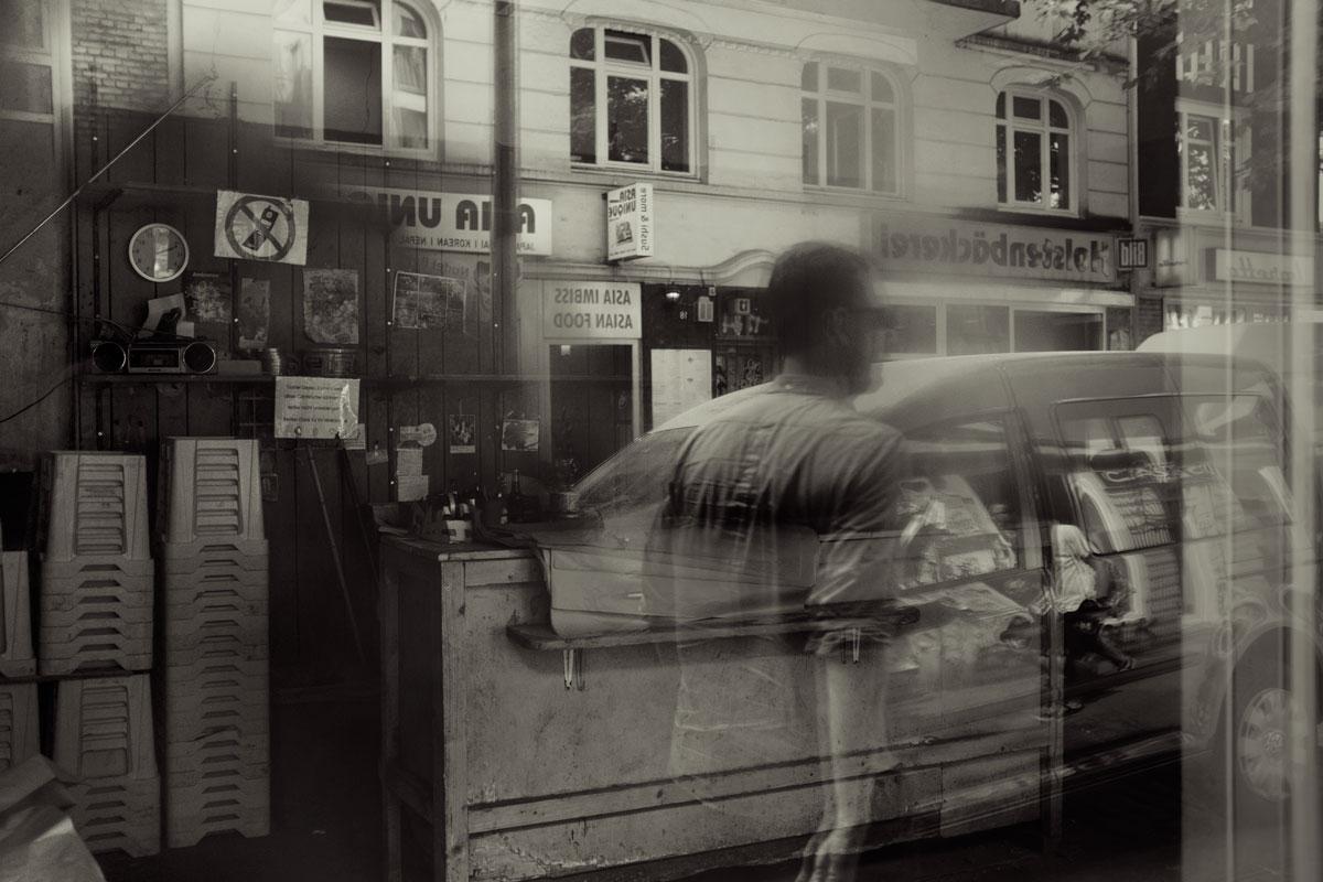 Das spiegelnde Fenster