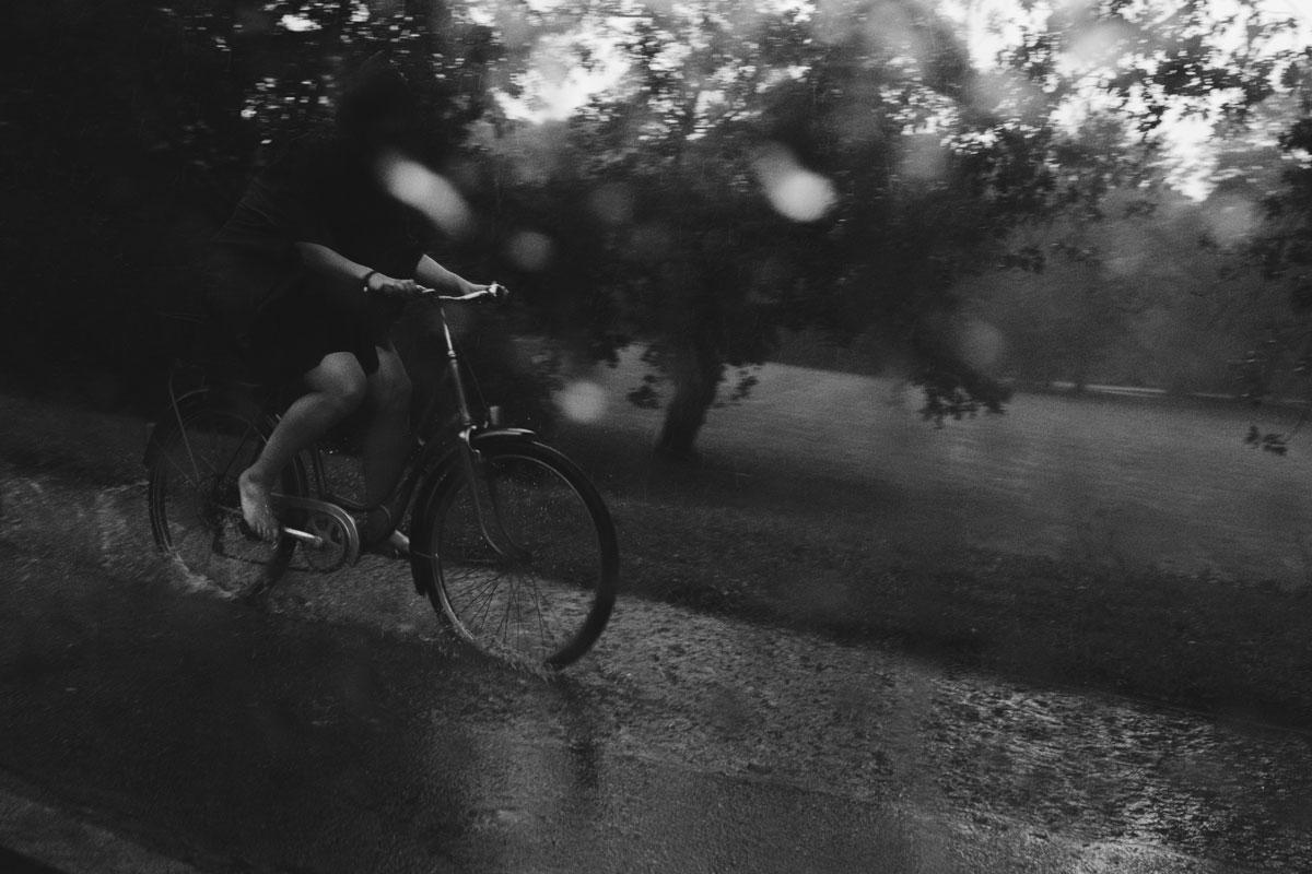 Die Fahrt im Regen