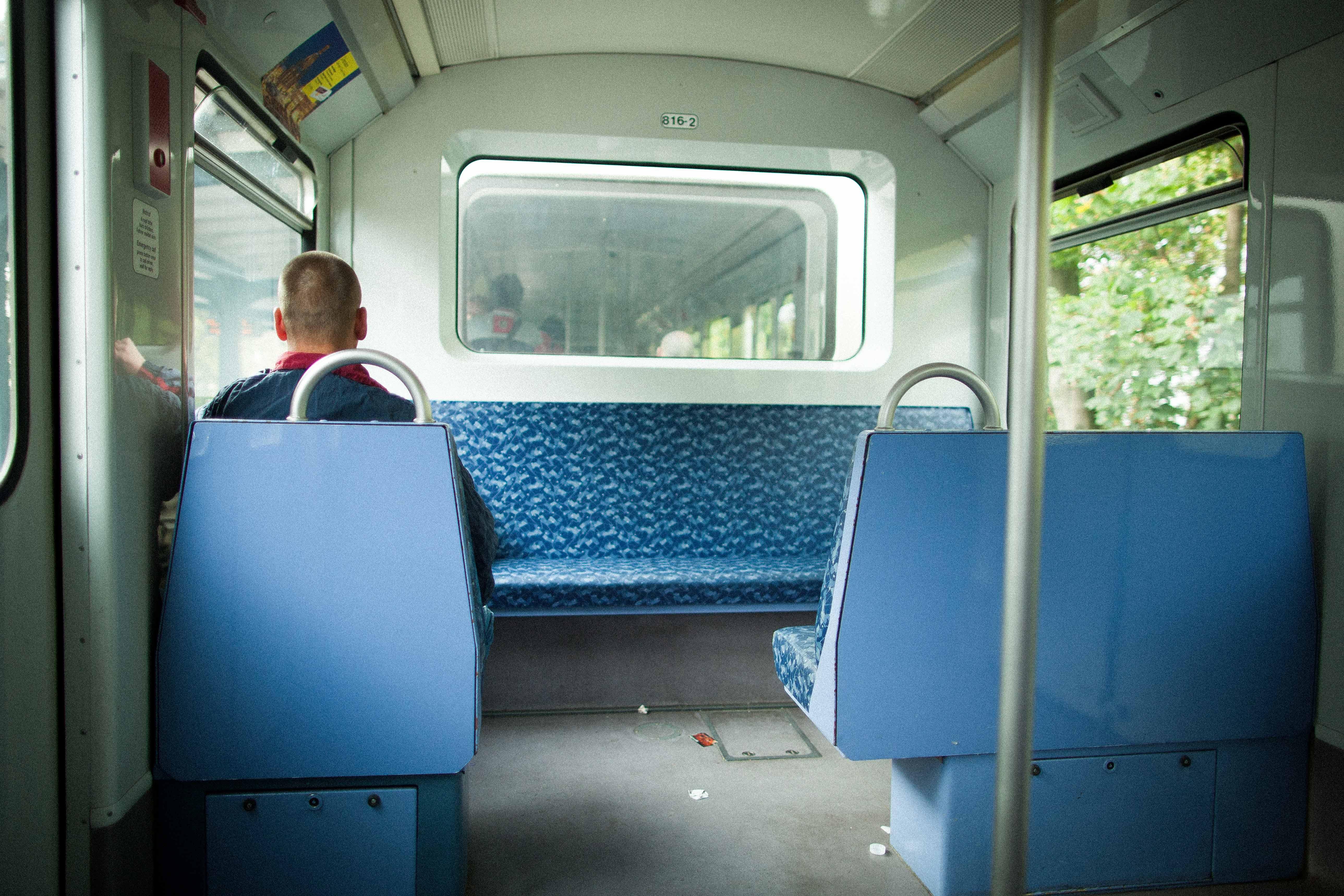Die blauen Sitze