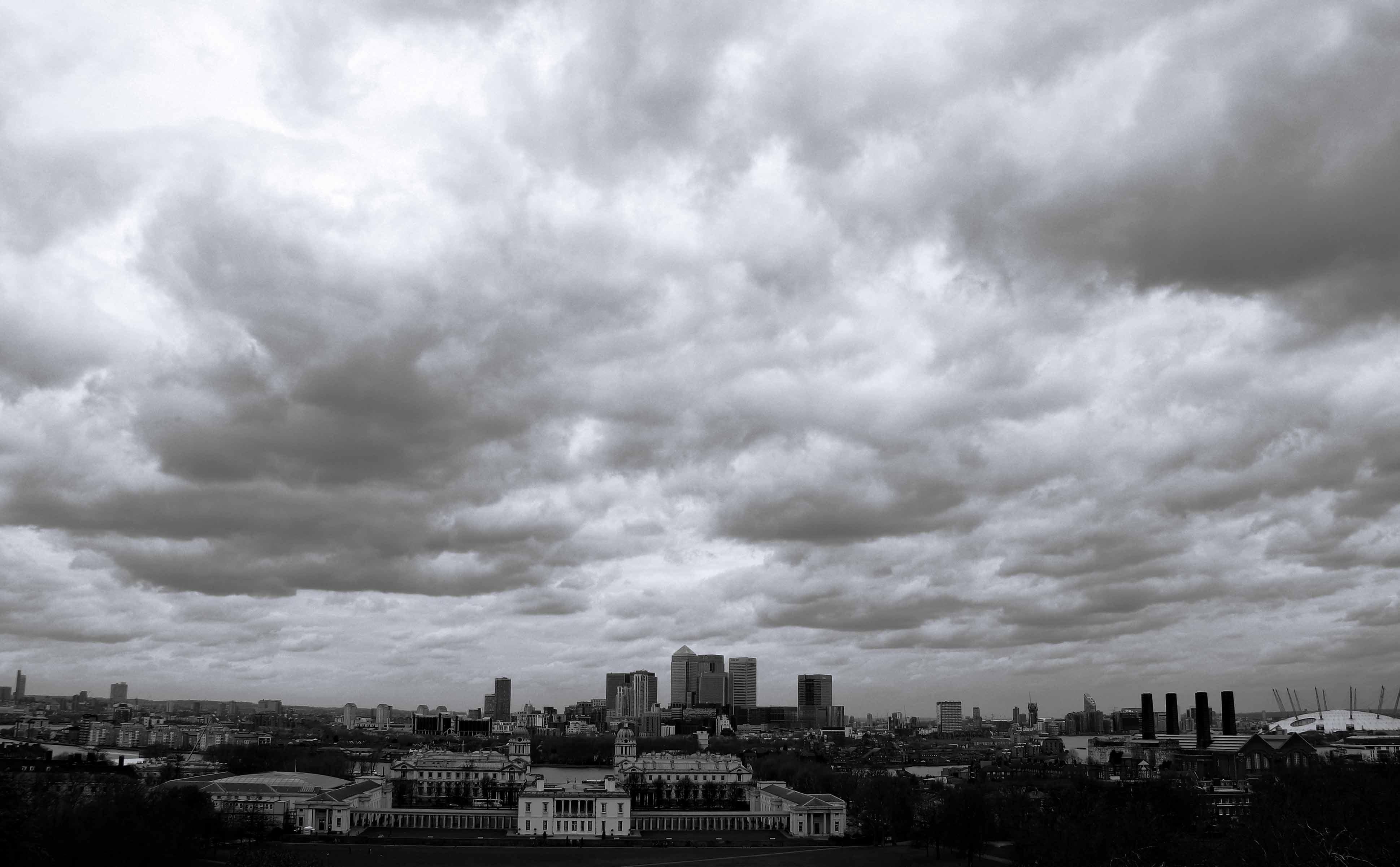 Die Skyline Londons